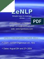 Zenlp1 Stress Mgt