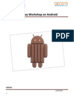 ANDROID Workshop Mahesh