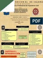 Sustentacion de Tesis para obtener el Titulo de Ingeniero Civil