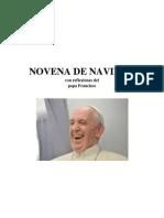 Novena de Navidad Papa Francisco