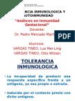 TOLERANCIA INMUNOLOGICA Y AUTOINMUNIDAD ppt.pptx