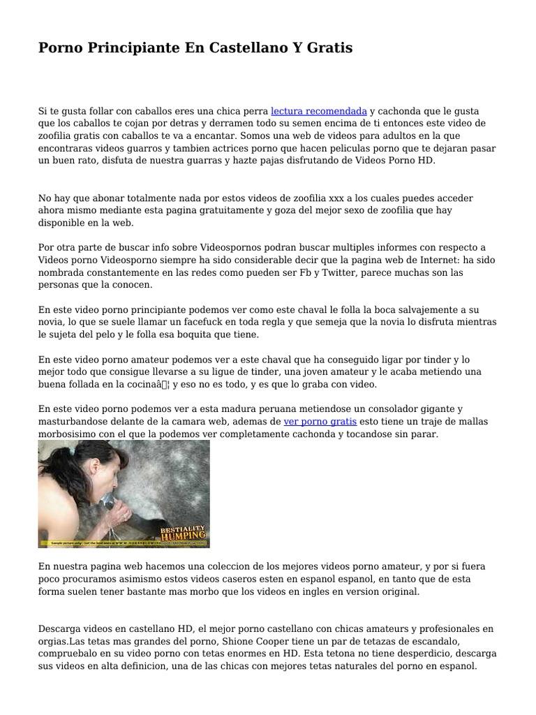 Caballos Follando Con Mujeres Porno Gratis porno principiante en castellano y gratis