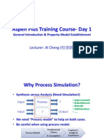 Aspen Plus Training Course