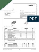 datasheet  FDB44N25