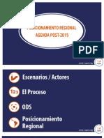 Agenda Post 2015 visión regional
