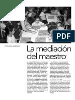 La Mediacion Del Maestro María Zambrano