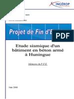 Rapport_Etude sismique d'un batiment (R+14)-INSA.pdf