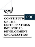 UNIDO Constitution