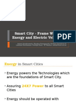 IIT Madras - Smart City - Frame Work Energy and Electric Vehicle