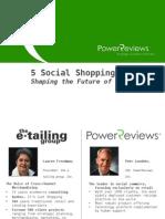 Social Shopping Webinar