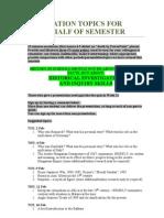 Presentation Topics For
