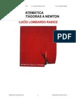 La Matematica de Pitagoras a Newton-Lucio Lombardo Radice