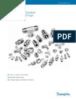 Swagelok VRC Metal Gasket Face Seal Fittings
