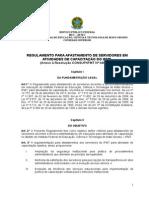 9 ANEXO DA RESOLUÇÃO Nº 045.2013 Regulamento Para Afastamento Para Capacitação