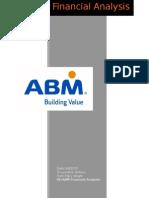 financial analysis abm inc