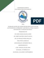 Tesis Sistema de Control de Calidad Para Mejorar La Aplicacion de Los Procesos de Contabilidad y Auditoria en La Firma a.blanco y Asociados de La Ciudad de San Miguel