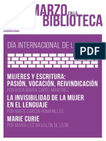 Revista Marzo Biblioteca Guadalajara
