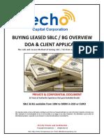 Buying Leased Bank Guarantee Program