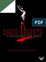 Bernabe, Salvador - Dario Argento o La Alquimia Del Miedo [19816] (r1.0)
