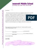 volleyball scorekeeper parent letter