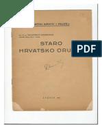 Staro Hrvatsko Oruzje, Ratni Arhiv i Muzej