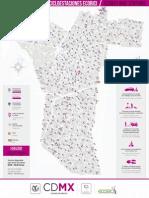 mapa Cicloestaciones Ecobici
