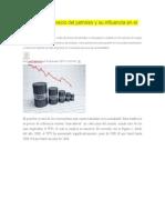 Analizando El Precio Del Petróleo y Su Influencia en El Mercado Local