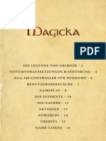 MAGICKA - German Manual