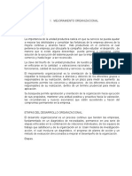 programa de mejoramiento organizacional