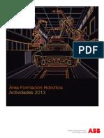 Area Formacion Robotica Abb_2013