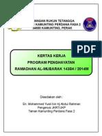 Kertas Kerja - Ihya Ramadhan 1435h