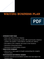 Topic 04a (i) - Writing Business Plan