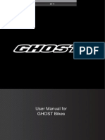 User Manual for GHOST Bikes