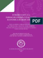 INTRODUCCIÓN a LA FARMACOECONOMIA