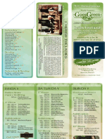 2015 North Country Goes Green Irish Festival schedule