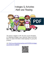 DI Strategies and Activities for Math and Reading