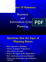 Business and Information system planning