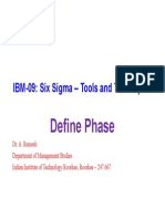 2 Define Phase six sigma