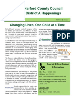 District A Happenings, March 15, 2015