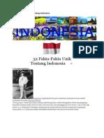 32 Fakta Unik Ttg Indonesia