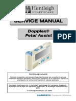 Huntleigh Dopplex Fetal Assist - Service Manual