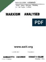 Marxism Analysed