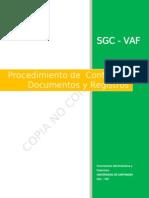 P.CONTROL DE DOCTOS