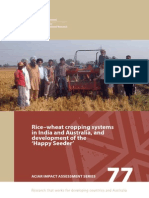 Ias077 Rice Wheat Cropping Systems in India and 12036