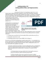 Antidegradation Policy