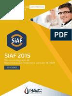 Diplomado de Especialización SIAF 2015 - Inicio 08 de abril
