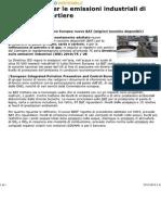 Nuovi Limiti Raffinerie BAT CE 09-10-14