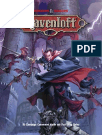 Ravenloft Player's Guide for 5th Edition (Redraft)