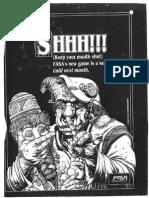 Earthdawn Sizzle Release Brochure
