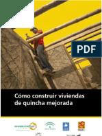 Manual Cómo construir viviendas de quincha mejorada